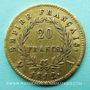Gestohlene objekte 1er empire, 20 francs 1812A