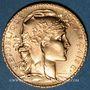 Gestohlene objekte 3e république (1870-1940). 20 francs Marianne 1914. 900 /1000. 6,45 gr