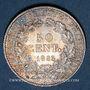 Gestohlene objekte 3e république (1870-1940), 50 cmes Cérès 1895A