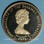 Gestohlene objekte Bahamas. Elisabeth II. 100 dollars 1973. 585 /1000. 14,54 gr
