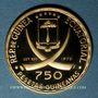 Gestohlene objekte Guinée Equatoriale. République. 750 pesetas 1970. (900 /1000. 10,57 gr)