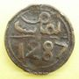 Gestohlene objekte Maghreb, 'Alawites, Sidi Muhammad IV (1276-90H), 4 fals 1287H, Fas