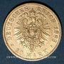 Gestohlene objekte Prusse, Guillaume I (1861-1888), 20 mark 1883A. 900 /1000. 7,96 gr