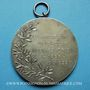 Gestohlene objekte Strasbourg, 25e anniversaire du Vélo-club Koenigshoffen 1922 médaille br. argenté 50 mm