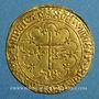 Münzen Henri VI (1422-1453). Salut d'or. 2e émission. Rouen
