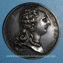 Münzen Louis XVI. Strasbourg. Jubilé du rattachement de Strasbourg à la France. 1781. Médaille argent