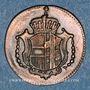 Münzen Allemagne. Possessions autrichiennes. Joseph II (1780-1790). 1 heller 1790 H. Hall
