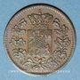 Münzen Bavière. Maximilien II Joseph (1848-64). 1 pfennig 1861