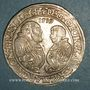 Münzen Brandebourg-Franken. Georges-Frédéric et Albrecht (1527-1545). Taler 1539. Schwabach