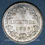 Münzen Francfort. Ville. 1 kreuzer 1866