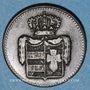 Münzen Oldenbourg. Paul Frédéric Auguste (1829-1853). 1/2 grote 1835