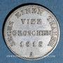 Münzen Prusse. Frédéric Guillaume III (1797-1840). 1/6 taler (= 4 groschen) 1818 A