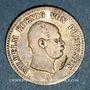 Münzen Prusse. Guillaume I (1861-1888). 1/6 taler 1862 A