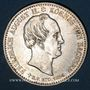 Münzen Saxe. Frédéric Auguste II (1836-1854). 1/3 taler 1854. Commémoration de la mort du roi