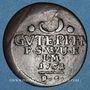 Münzen Saxe-Weimar-Eisenach. Charles Auguste (1758-1828). 3 pfennig 1762 FS
