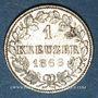 Münzen Wurtemberg. Charles I (1864-1891). 1 kreuzer 1868