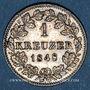 Münzen Wurtemberg. Guillaume I (1816-1864). 1 kreuzer 1848