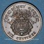 Münzen Cambodge. Norodom I (1860-1904). 10 centimes 1860