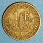 Münzen Cameroun. Territoires sous mandat français (1919-1945). 1 franc 1925