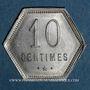 Münzen Ile de la Réunion. 10 centimes 1920