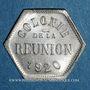 Münzen Ile de la Réunion. 5 centimes 1920