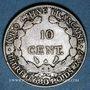 Münzen Indochine française. 10 cent 1928 A