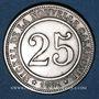 Münzen Nouvelle Calédonie. Société Anonyme Le Nickel. 25 centimes 1881