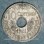 Münzen Tunisie. Ahmed II, bey (1348-1361H = 1929-1942). 10 centimes 1941