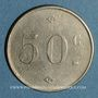 Münzen Tunisie. Entrepreneur A. Graziani. 50 centimes. n. d.