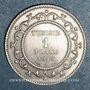 Münzen Tunisie. Mohammed En-Naceur (1324-1340H). 1 franc 1916A