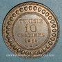 Münzen Tunisie. Mohammed En-Naceur (1324-1340H). 10 centimes 1914A