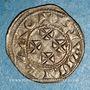 Münzen Aquitaine. Guillaume IX (1086-1126) et Guillaume X (1126-1137). Denier