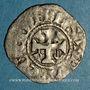 Münzen Comté d'Anjou. Foulques IV (1069-1109) ou Foulques V (1109-1129). Denier