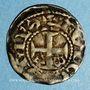 Münzen Comté d'Anjou. Foulques V (1109-1129). Denier immobilisé