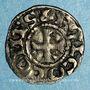 Münzen Comté d'Anjou. Foulques V (1109-1129). Obole immobilisée