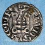 Münzen Comté d'Auvergne. Alphone de Poitiers (1241-1271). Denier. Riom