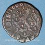 Münzen Comté de Bourgogne. Albert et Isabelle (1598-1621). Double denier 1600. Dôle. Au nom de Philippe II