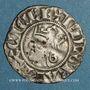 Münzen Comté de Provence. Charles I d'Anjou (1246-1285). Denier provençal coronat. Saint-Rémy (1266-1277)
