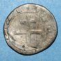 Münzen Comté de Provence. Charles III d'Anjou (1480-1481). Demi-gros, Tarascon