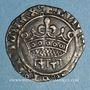 Münzen Comté de Provence. Louis II (1384-1417). Sol coronat ou gros à la couronne. Tarascon (1414-1417)