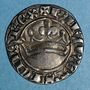 Münzen Comté de Provence. Robert d'Anjou (1309-43). Sol provençal ou provençal coronat. 1er type (1337-43)