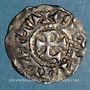 Münzen Dauphiné. Archevêché de Vienne. Thibaut, archevêque (993-1001) & Rodolpe III, roi (993-1032). Denier