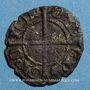 Münzen Dauphiné. Évêché de Grenoble. L'évêque & le dauphin Humbert Ier (1281-1307). Denier