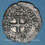 Münzen Duché de Bourgogne. Eudes IV (1315-1349). Maille noire double au petit écu de Bourgogne