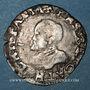 Münzen Franche Comté. Comté de Bourgogne. Philippe II (1556-1598). Carolus 1589. Dôle. Variante inédite !