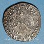 Münzen Franche Comté. Comté de Bourgogne. Philippe II (1556-1598). Double denier, 1591. Dôle