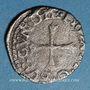 Münzen Franche Comté. Comté de Bourgogne. Philippe II (1556-1598). Liard 1562 (= 1/2 blanc). Dôle