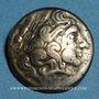 Münzen Calètes. Pays de Caux. Hémistatère à la roue, 2e siècle av J-C