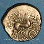 Münzen Carnutes (région de Chartres). Statère d'électrum à la joue ornée, 1er s. av. J-C