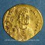 Münzen Empire byzantin. Constant II (641-668). Semissis. Constantinople, 641-668